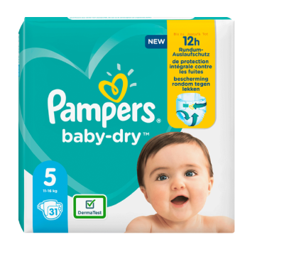 PAMPERS BABY-DRY Windeln od. Pants