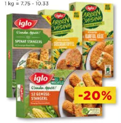 Iglo G'sunder Appetit und Ideenküche-Laibchen