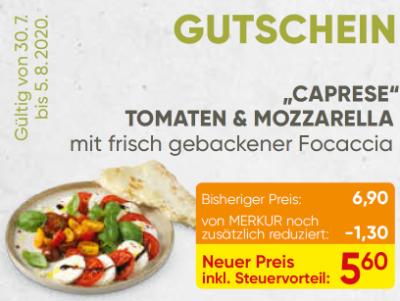 """Caprese"" Tomaten & Mozzarella"