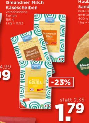 Gmundner Milch Käsescheiben