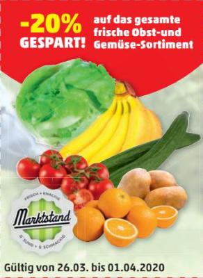 -20% auf das gesamte frische Obst-und Gemüse-Sortiment