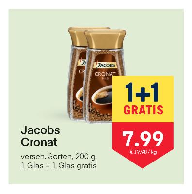 Jacobs Cronat verschiedene Sorten um € 7,99