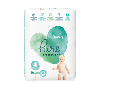 PAMPERS PURE PROTECTION Tragepack Windeln