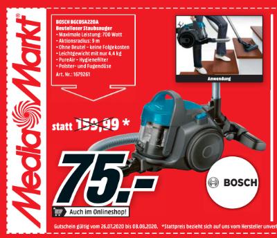 Bosch BGC05A220A Beutelloser Staubsauger