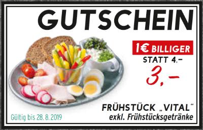 "Merkur Marktküche ""Vital"" Frühstück"