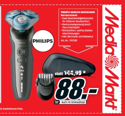 Philips S 6640/44 Shaver 6000 Herrenrasiererv