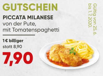 Piccata Milanese von der Pute