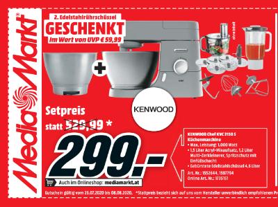 Kenwood Chef KVC 3150 S Küchenmaschine