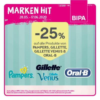 -25% auf alle Produkte von Oral-B