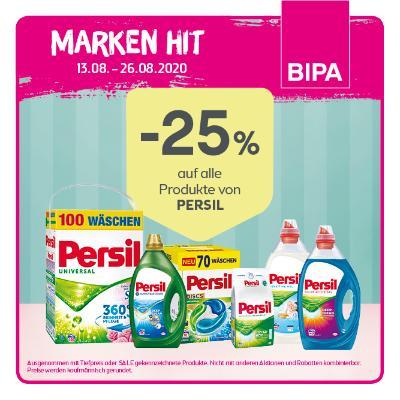 -25% auf alle Produkte von PERSIL