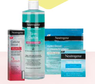 -25% auf NEUTROGENA Gesichtspflege & -reinigung
