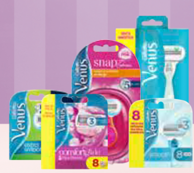 -25% auf alle Produkte von GILLETTE VENUS