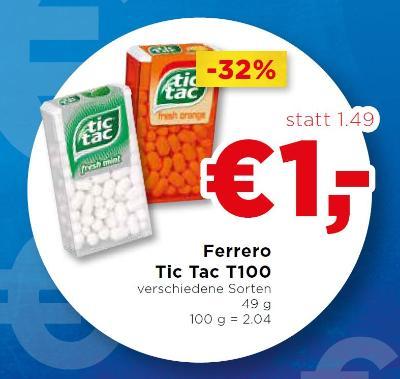 Ferrero Tic Tac T100