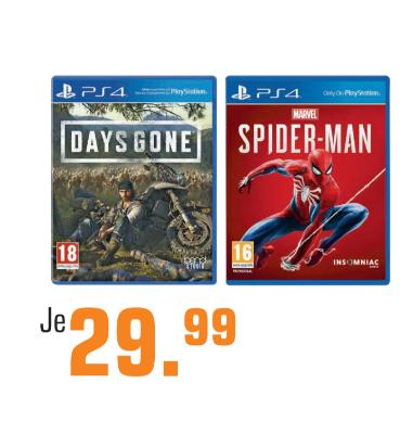Spider Man Days Gone