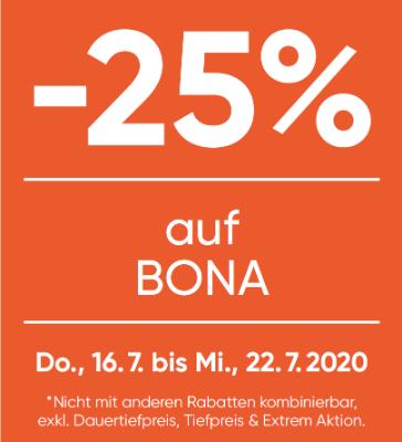 -25% auf Bona