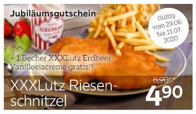 XXXLutz Riesenschnitzel