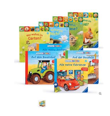 Kinderbücher mit Filzseiten