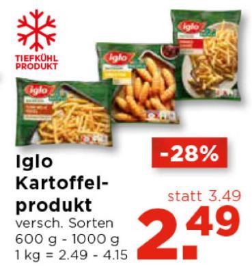 Iglo Kartoffelprodukt