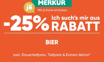 -25% auf Bier