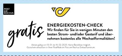Post Energiekosten-Check gratis