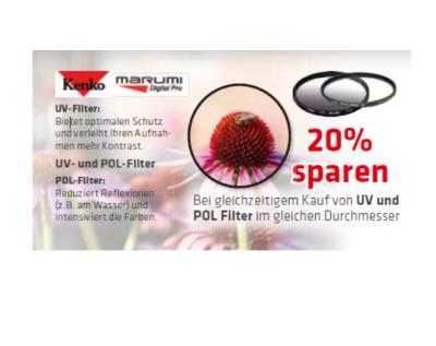 -20% auf Kenko Filter